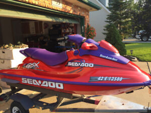 1998 Seadoo GSX Limited 951 (For Parts or repair)
