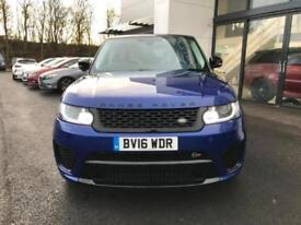 2016 Land Rover Range Rover Sport 5.0 S/C V8 SVR SUV 5dr Petrol Automatic