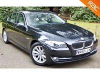 2010 60 BMW 5 SERIES 2.0 520D SE 4D AUTO 181 BHP DIESEL 62.8MPG! SAT NAV+PHONE!