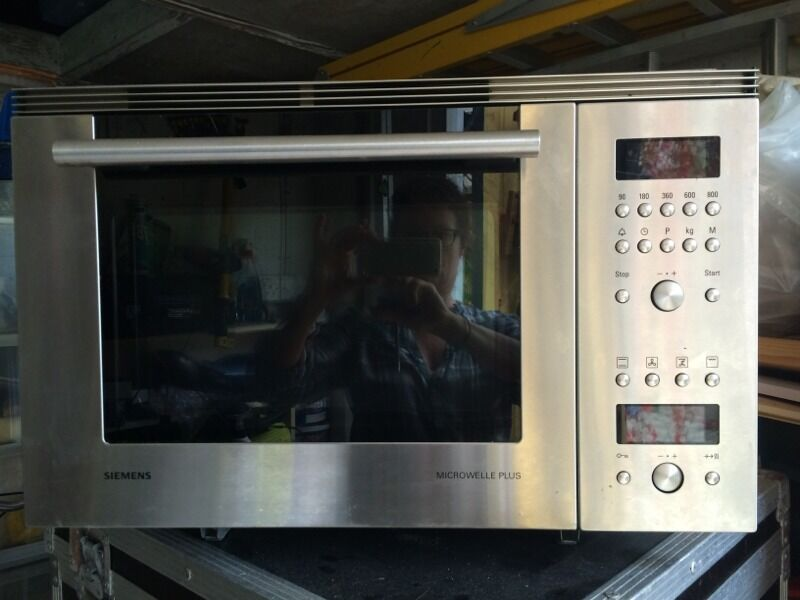 Siemens built in microwave in bournemouth dorset gumtree for Siemens mikrowelle plus