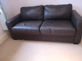Double sofa bed with extra mattress