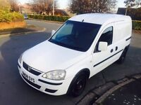 VAUXHALL COMBO 1.3 CDTI 6 SPEED 2008 not dispatch boxer partner is transit connect