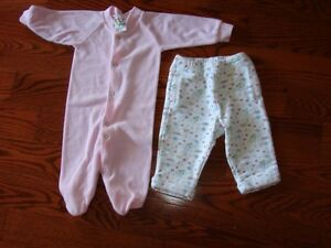 2 Girls clothing lots for sale 3-6 MTHS all for 10