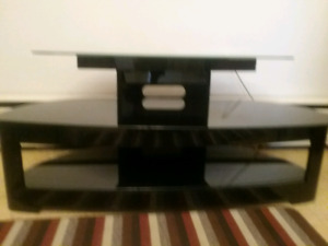 Glass TV Stand - $55