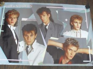 Authentic Duran Duran Posters Original from the 1980s