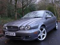 2009 59 Jaguar X-TYPE 2.2D DPF auto SE..HIGH SPEC!! FULL SERVICE HISTORY!!