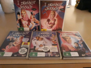 DVDs complete set I Dream of Jeannie. Sorrento Joondalup Area Preview
