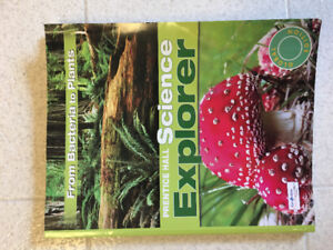 PRENTICE HALL SCIENCE EXPLORER: FROM BACTERIA TO PLANTS book