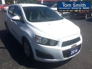 2014 Chevrolet Sonic LS - LOW KMS, BLUETOOTH, KEYLESS ENTRY  - C
