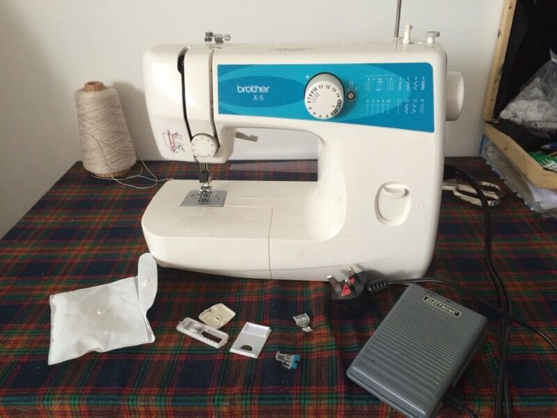 Brother X40 Sewing Machine Lightweight Electric Zig Zag In Camden Cool Brother X5 Sewing Machine Parts