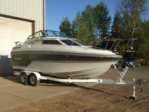 22' Sea Port pleasure boat w trailer/motor