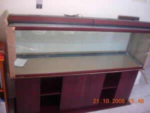 125 Gallon Aquarium - front glass broken