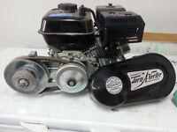 196cc 6.5hp Honda clone and Torque-A-Verter (TAV)