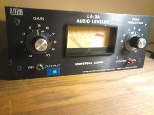 Universal Audio La3a vintage opto compresseur