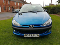 Peugeot 206 1.4 2003MY Entice PX Swap 12 months mot Anything considered