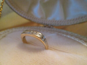 10 k gold ring  - was used as wedding ring