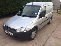 2011 61 Vauxhall combo 1700 eco flex 1.3cdti no vat