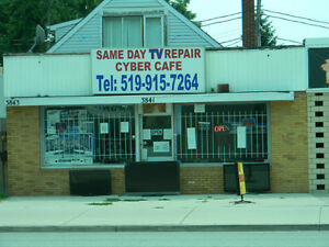 sameday tv repair services (the cheapest repair shop in the city