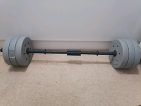 Gym weight lifting rod and plates