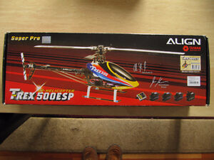 TREX 500 SUPER PRO R/C REMOTE CONTROLLED HELICOPTER