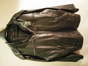 Moto Black faux leather jacket