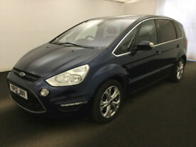 2012 Ford S-MAX 2.0TDCi 140 Titanium BUY FOR ONLY £34 A WEEK *FINANCE*