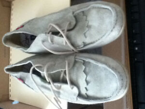 40 Oliberte Leather Moccasins Shoes Made in Africa 9.5us 7.5uk