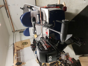 2016 14' boat with motor and trailer