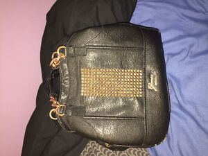 Guess leather black purse for sale!!