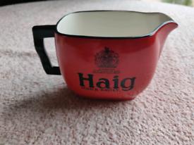 Vintage Haig scotch whisky water jug