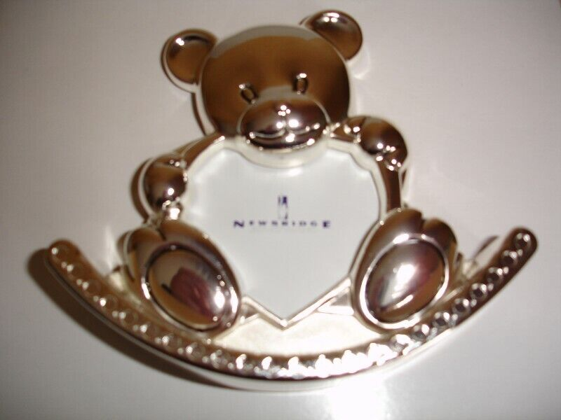 Newbridge Teddy Bear Shape Rocking Photo  Frame 5""