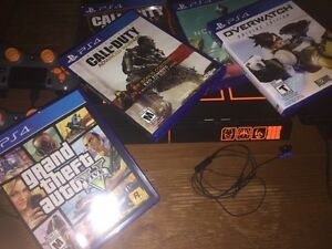 [Rare] 1TB limited edition BO3 PS4 - 2 controllers - 19 games Kitchener / Waterloo Kitchener Area image 5