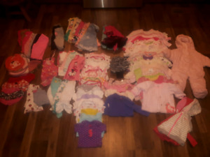 Girls 3-6 and 6 month lot