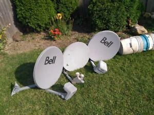Bell Satellite Dishes For Sale