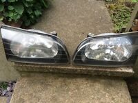 Toyota starlet glanza headlights.