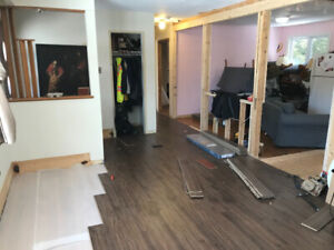Experienced Carpenter for hire. New and Reno's. Start to finish.