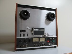 TEAC A-3300SX-2T Reel to Reel, Remote RC-120 and Accesories