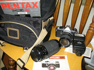 Pentax ME super 35mm Camera (Not Digital)
