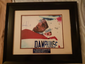 VINCENT DAMPHOUSSE MONTREAL CANADIENS CADRE SPORTS HOCKEY NEUF