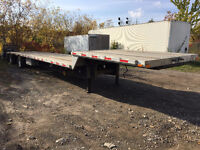 2006 TRANSCRAFT TL2100 RS2 53 Ft T/A Combination Step deck