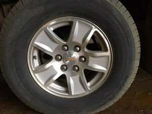 "Wanted: Chevrolet 17"" rims"