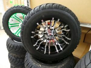 GOLF CART 12INCH LOW PROFILE WHEEL AND TIRE PACKAGE Belleville Belleville Area image 10