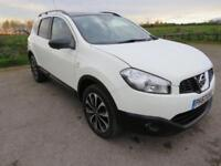 2013 63 NISSAN QASHQAI+2 1.6 DCI 360 IS PLUS 2 5D 130 BHP DIESEL