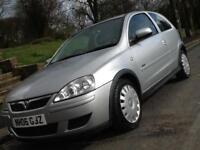2006 Vauxhall Corsa 1.2i 16v 3dr A/C Design