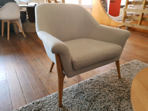 Scandinavian Style Armchairs Great Condition Armchairs Gumtree