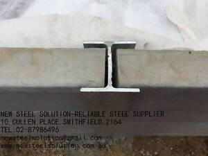 RETAINING WALL POST FOR 75MM SLEEPER-GALVANIZED C BEAM Smithfield Parramatta Area Preview