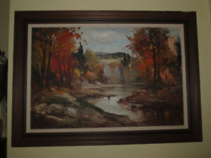 Framed Painting by Canadian Artist Gordon  Geza Marich
