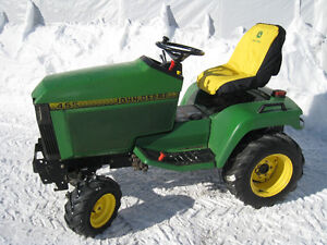 Tracteur john deere 455 diesel