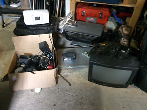 ASSORTED ELECTRONIC EQUIPMENT LOT