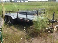 12' dual axle trailer for sale